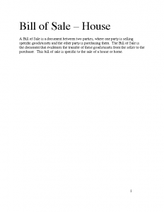 real estate bill of sale vzwxox bill of sale house