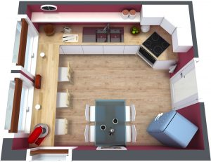 real estate business plan roomsketcher kitchen floor plan