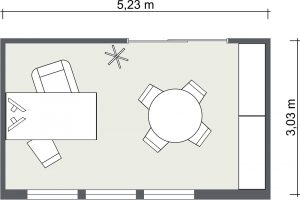 real estate business plan roomsketcher small office floor plans