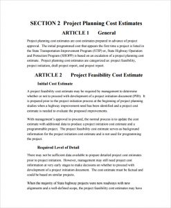 real estate business plan template project estimate proposal template