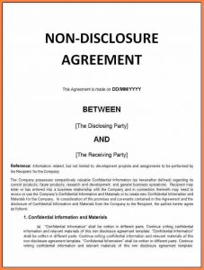 real estate letter of intent confidentiality non disclosure agreement sample fdfccdddcffff