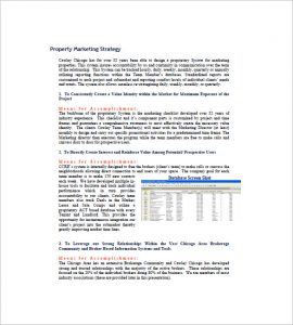 real estate listing marketing plan commercial real estate marketing plan