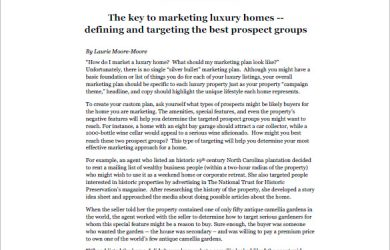 real estate listing marketing plan luxury real estate marketing plan