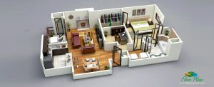 real estate marketing plan d floor plan