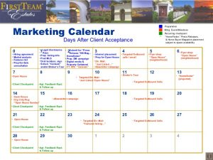 real estate marketing plan template retail marketing calendar template sample real estate agent listing presentation ecztms