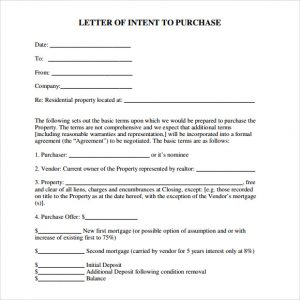 real estate offer letter template free letter of intent real estate