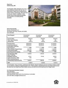 real estate open house flyer financesheet