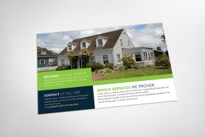 real estate postcard templates postcard mockup o o