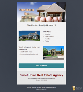 real estate templates real estate email template mailget