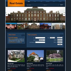 real estate templates templatemo real estate