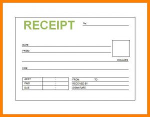 receipt book template printable receipt book book receipt template