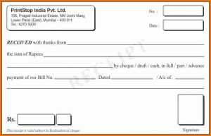 receipt book template receipt book template