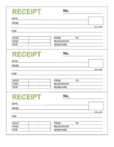 receipt book template rent receipt book template