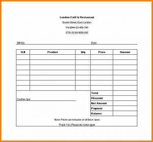 receipt for rent example of receipt sample restaurant receipt template in excel