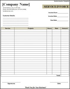 receipt template doc itemized invoice template lnvrqv