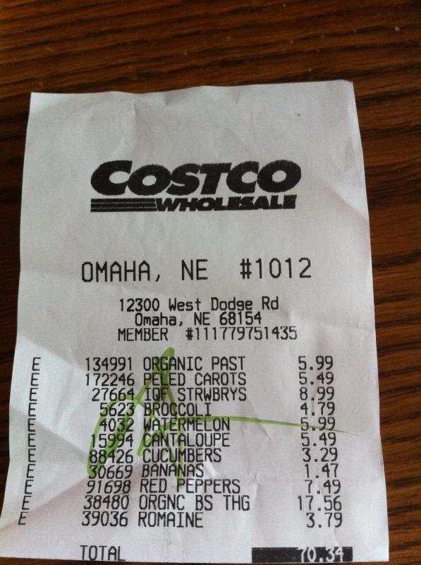 receipt template free
