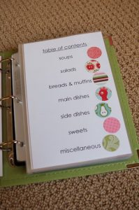 recipe book template how to put together a recipe bookpage templates good idea for my favor