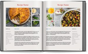 recipe book template cookbook template recipe book