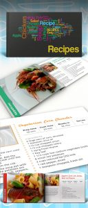 recipe book template recipe book preview