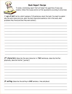 recipe book template recipe book template