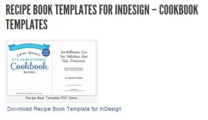 recipe card templates for word self pub