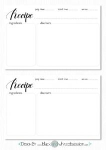 recipe template word ecccebcbfbacb printable recipe cards recipe card template
