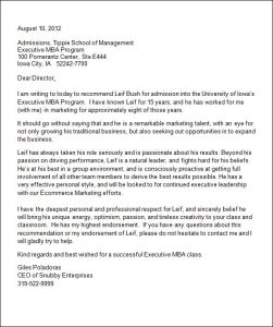 recommendation letter for college college admission recommendation letter