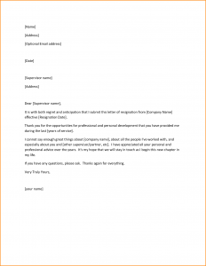 recommendation letter for high school student great resignation letter