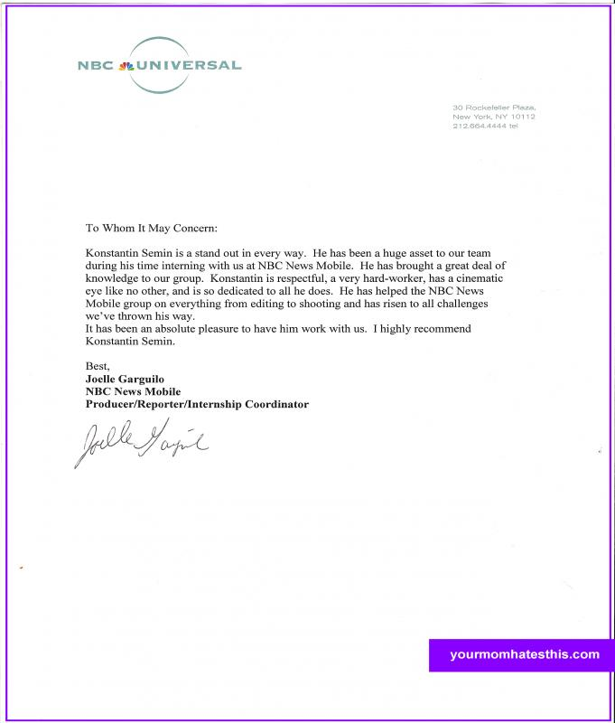 reference letter format 2 recommendation letter format template business 1763