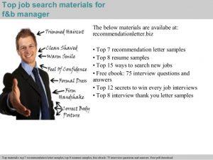 recommendation letter samples fb manager recommendation letter