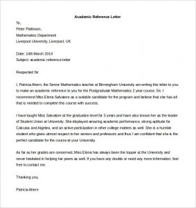 reference letter for apartment free academic reference letter template download
