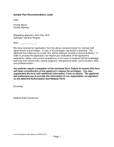 reference letter templates letter of recommendation