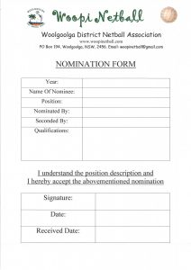 registration form sample nominationformcommitte