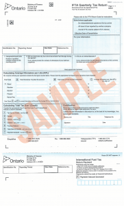 registration form sample quarterlyreturn