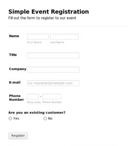 Registration Form Template Registration Form Template Gnyevcqe  Customer Registration Form Sample