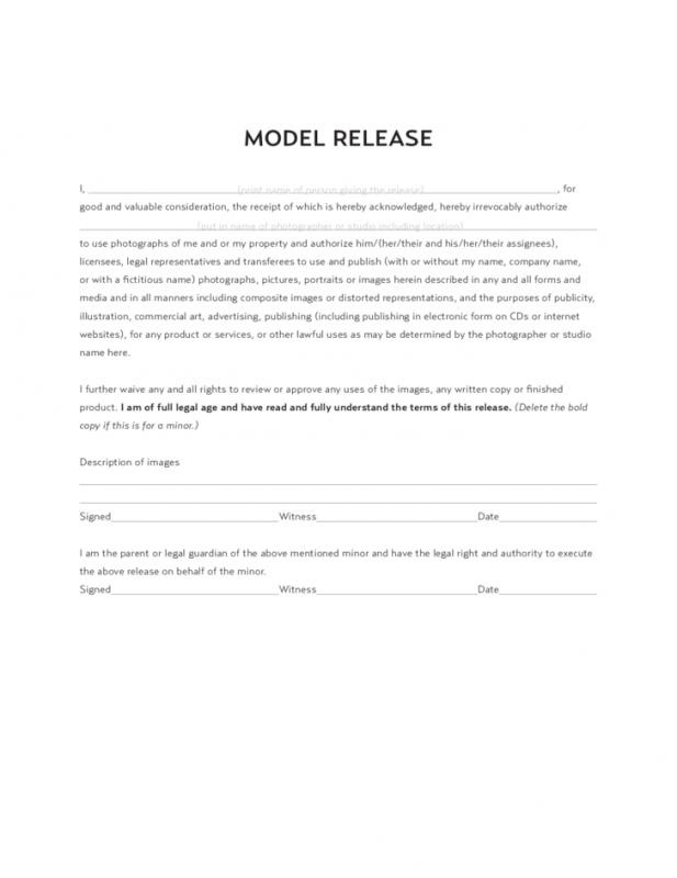 logo release form template