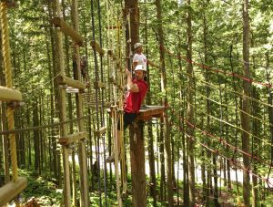 release from liability form high ropes aerial trekking course family at skytrek adventure park bc