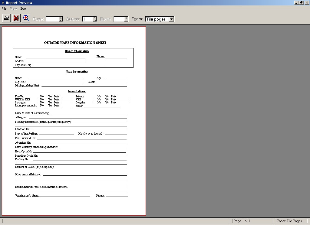 release of liability form template