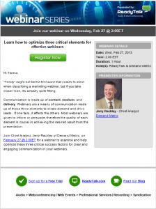 reminder email sample webinar invite