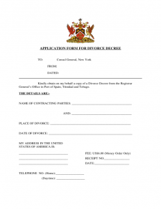 rent application form application form for divorce decree new york l