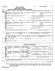 rent contract template certificate of dissolution of marriage new york state l
