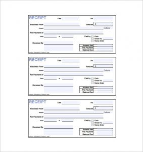 rent paid receipt payment invoice receipt pdf download