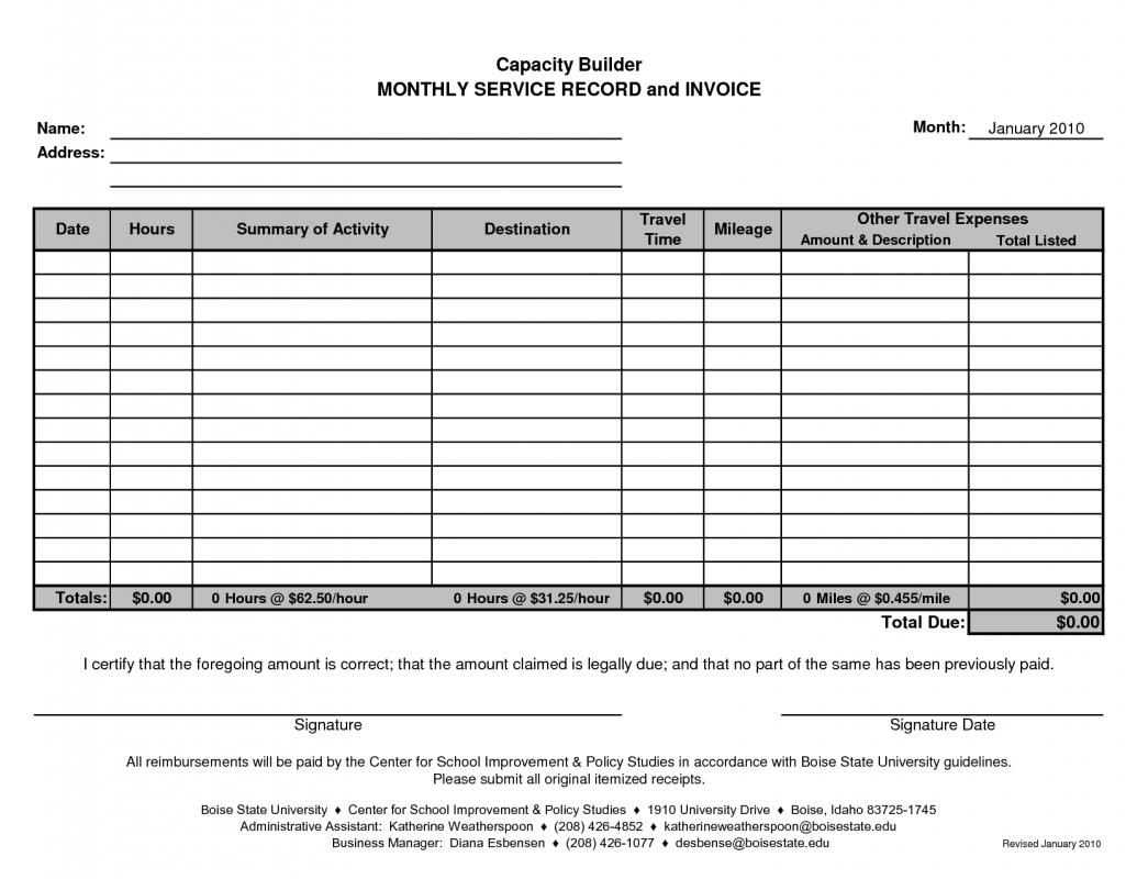 monthly rent receipt format