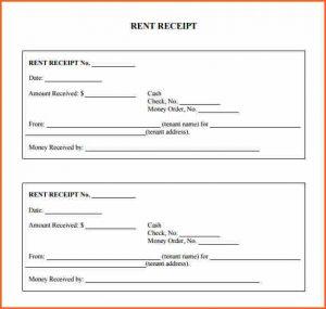 rent receipts forms printable rent receipts print rent receipt form