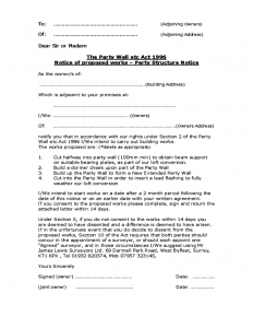 rent to own agreement template party wall agreement form sample l