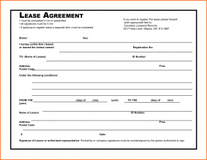 rental agreement pdf lease agreement pdf
