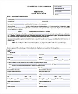 rental application template basic house rental application template pdf download