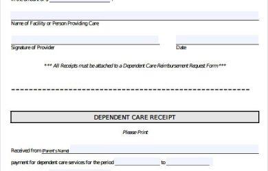 rental payment receipts receipt of payment template