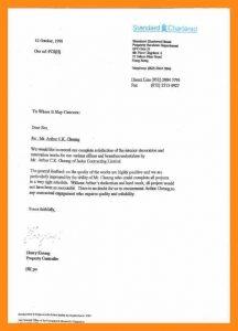 rental reference form standard reference letter obz