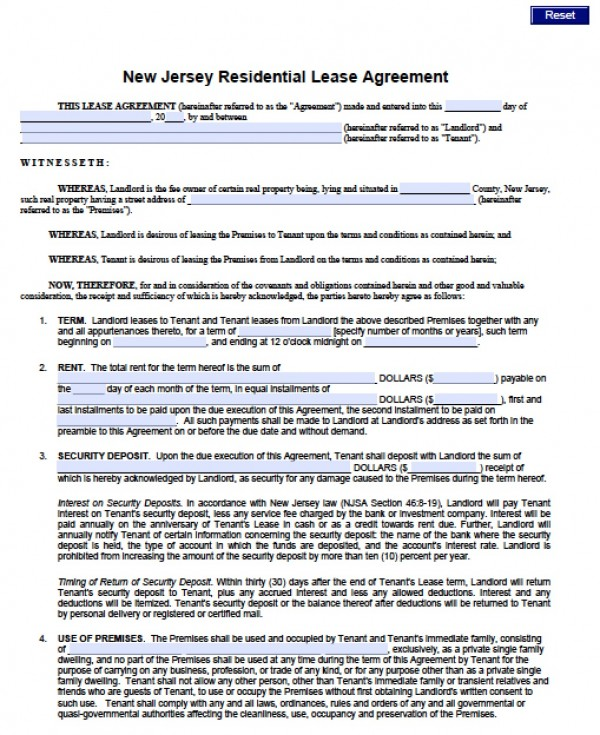 renters application form pdf